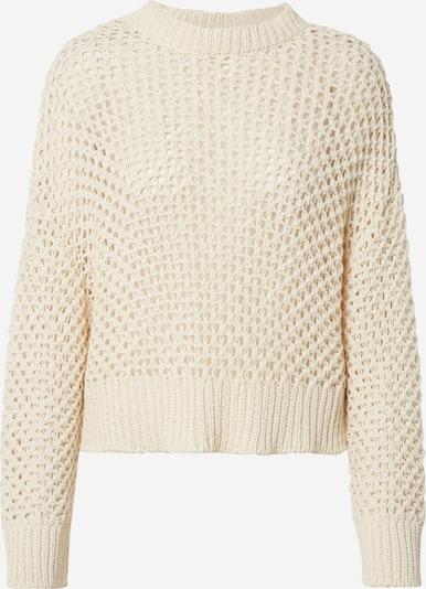 EDITED Pullover 'Neo' in beige / weiß, Produktansicht