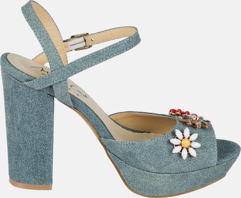 ANDREA CONTI Sandalette im Denim-Look