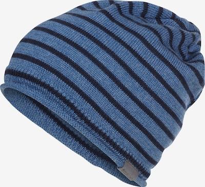 ELKLINE Beanie 'DÜNENWIND' in blau / schwarz, Produktansicht