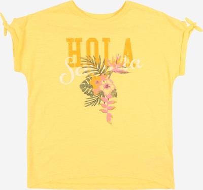 NAME IT Shirt 'NKFVEET' in gelb, Produktansicht