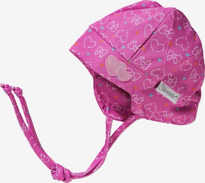 STERNTALER Mütze in mischfarben / fuchsia / rosa, Produktansicht