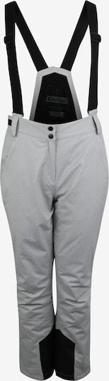 Pantaloni outdoor 'Erielle' KILLTEC pe gri deschis / negru, Vizualizare produs