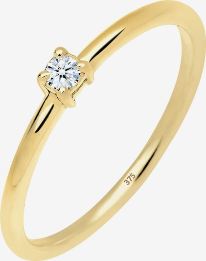 Diamore Ring in gold: Frontalansicht