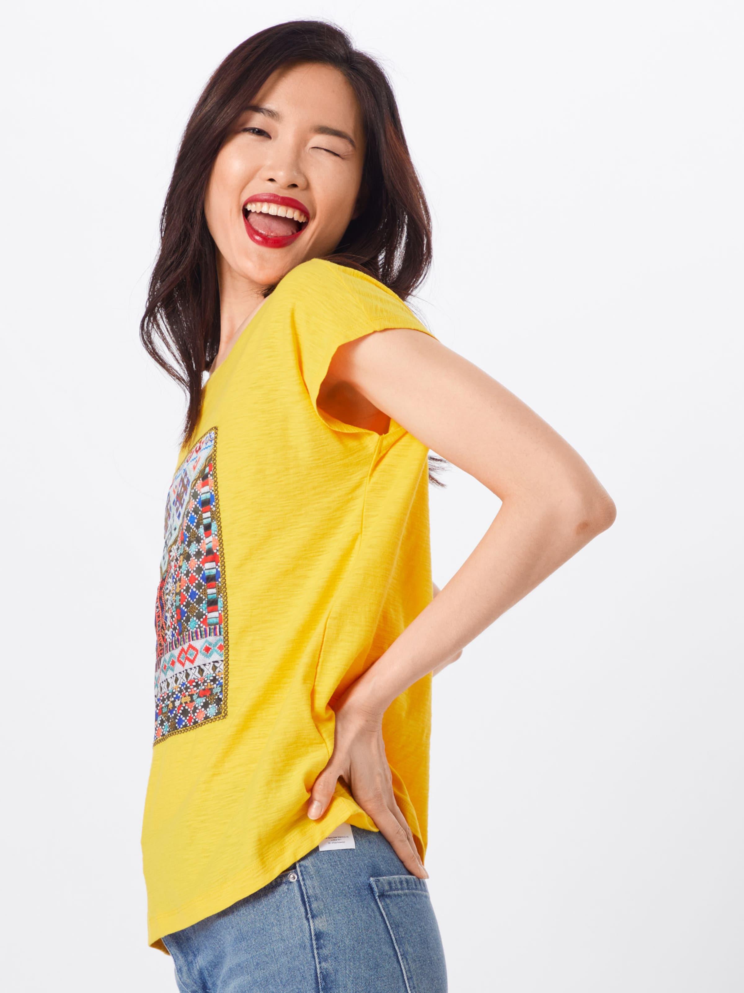 S En oliver Red Label JauneMélange shirt De T Couleurs 45Ac3LjRq
