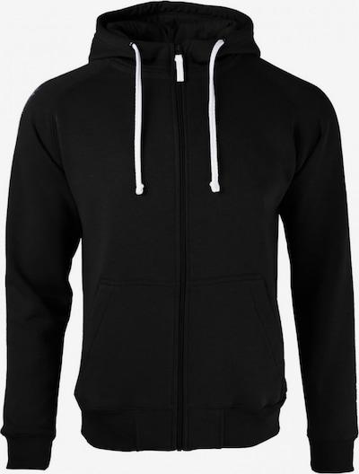BRDS Sweatjacke 'SAMMY' in schwarz, Produktansicht