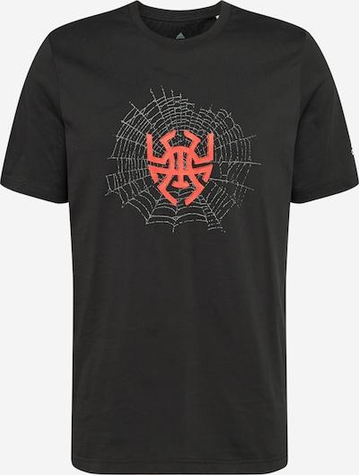ADIDAS PERFORMANCE T-Shirt fonctionnel 'Donovan' en gris / melon / noir, Vue avec produit