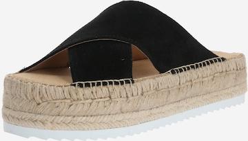 espadrij l´originale Sandale 'Croisette 2' in Schwarz