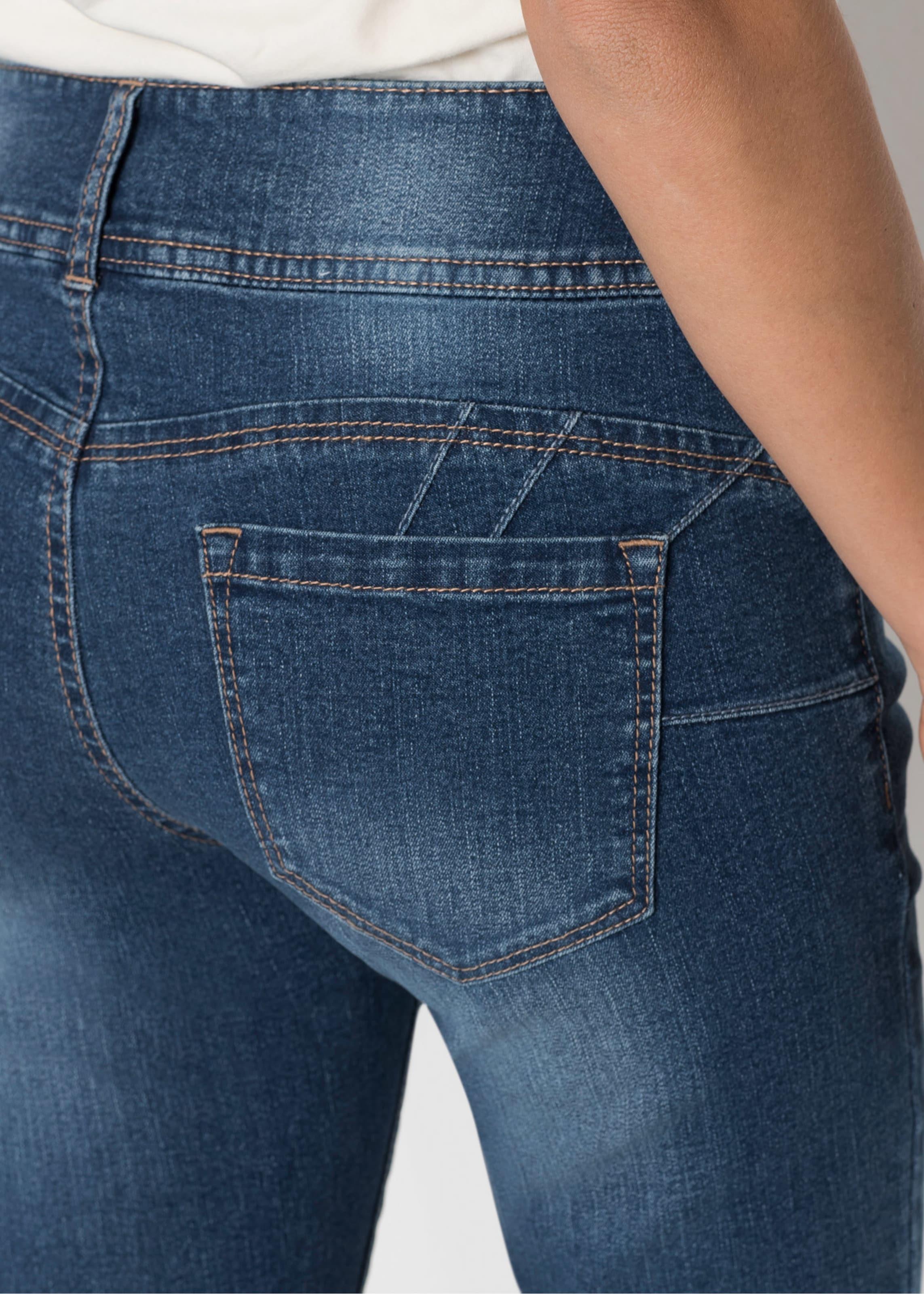 up Jeans Mit Effekt In Blau Push Bonprix 7yfgbY6