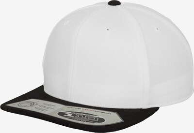 Flexfit Cap in schwarz / weiß, Produktansicht