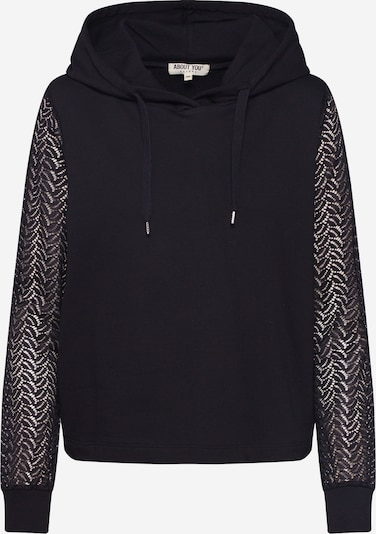 ABOUT YOU Sweatshirt 'Svenja' in schwarz, Produktansicht