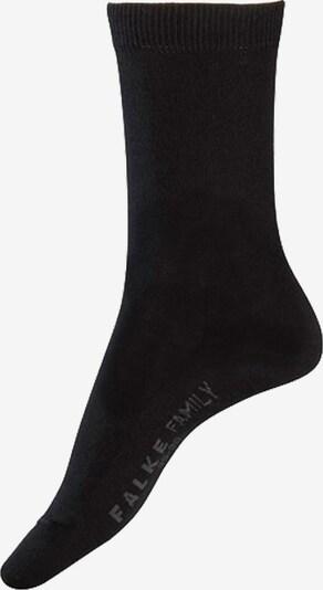 Kojinės 'Family' iš FALKE , spalva - pilka / juoda, Prekių apžvalga