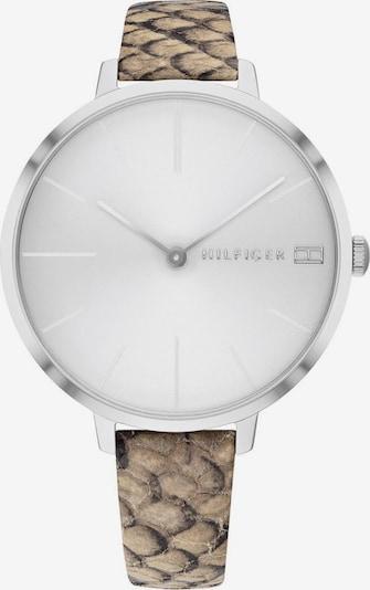 TOMMY HILFIGER Uhr 'Zendaya 1782162' in beige / silber / weiß, Produktansicht