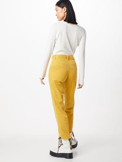 Kelnės 'GIRLFRIEND CHINO UTILITY FRAY' iš GAP , spalva - citrinos spalva: Vaizdas iš galinės pusės