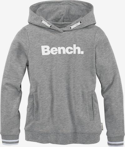 BENCH Sweatshirt in grau / weiß, Produktansicht