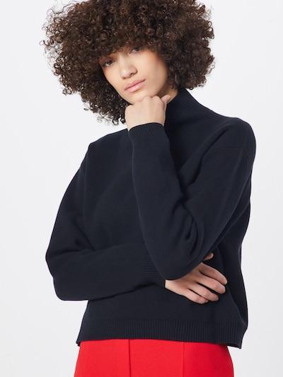 BOSS Pullover 'Waverley' in schwarz, Modelansicht