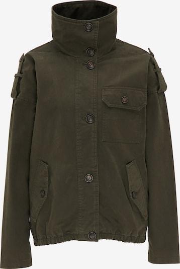 DREIMASTER Jacke in grün / khaki, Produktansicht