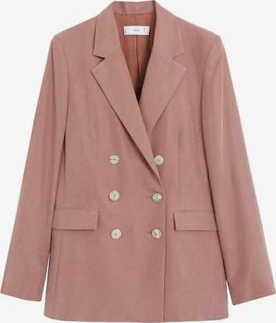 MANGO Blazer 'tempo' in pink: Frontalansicht