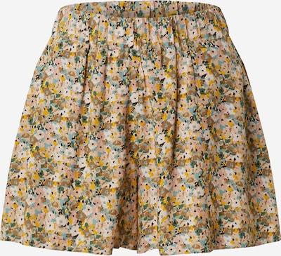 Mavi Shorts in grün / apricot / rosa, Produktansicht