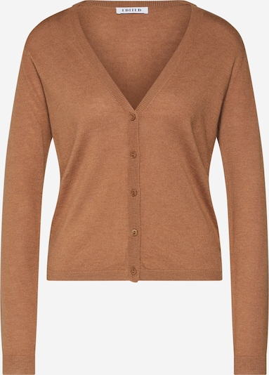 EDITED Strickjacke 'Lorraine' in beige, Produktansicht