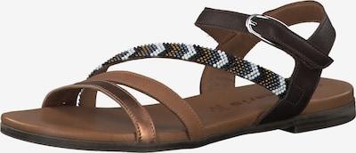 TAMARIS Remienkové sandále - hnedé / kapučíno / bronzová, Produkt
