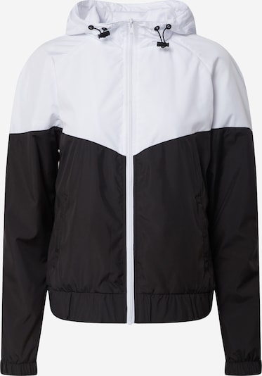 Urban Classics Windbreaker 'Ladies Arrow Windbreaker' in schwarz / weiß, Produktansicht