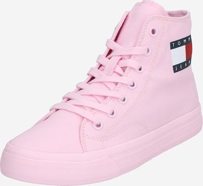Tommy Jeans Baskets hautes 'WMNS MID CUT LACE UP VULC' en rose, Vue avec produit