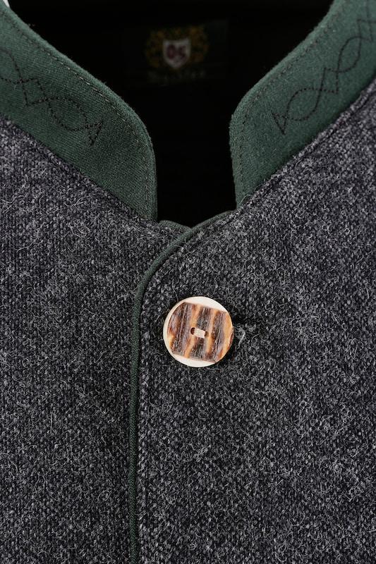 Os-seek Trachtenjanker Hinges In Tweed Optik