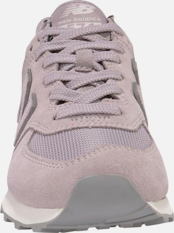 faf650cd6c5a new balance Rövid szárú edzőcipők 'WL574' szürke / rózsaszín színben |  ABOUT YOU