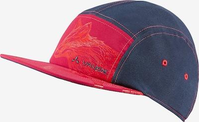 VAUDE Baseball Cap 'Tammar' in dunkelblau / dunkelpink, Produktansicht
