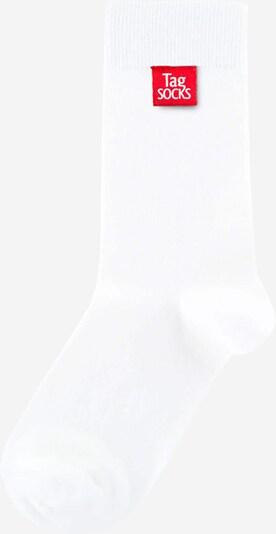 Tag SOCKS Socken 'Colour Explosion' in weiß, Produktansicht