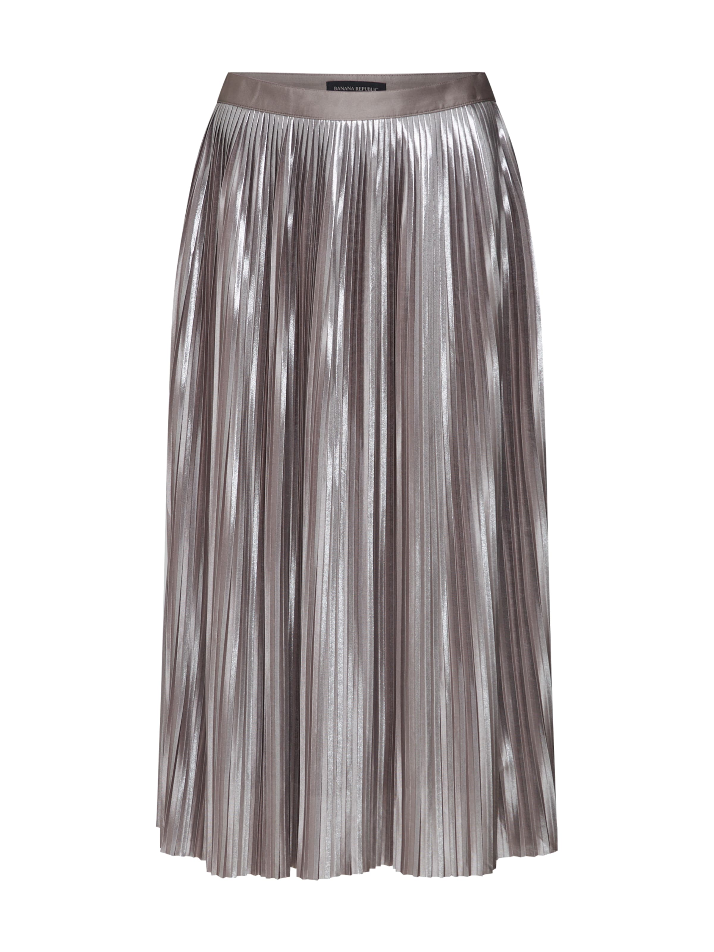 Banana In 'pleated Metallic Republic Skirt' Rock RoséSilber D2W9EIH