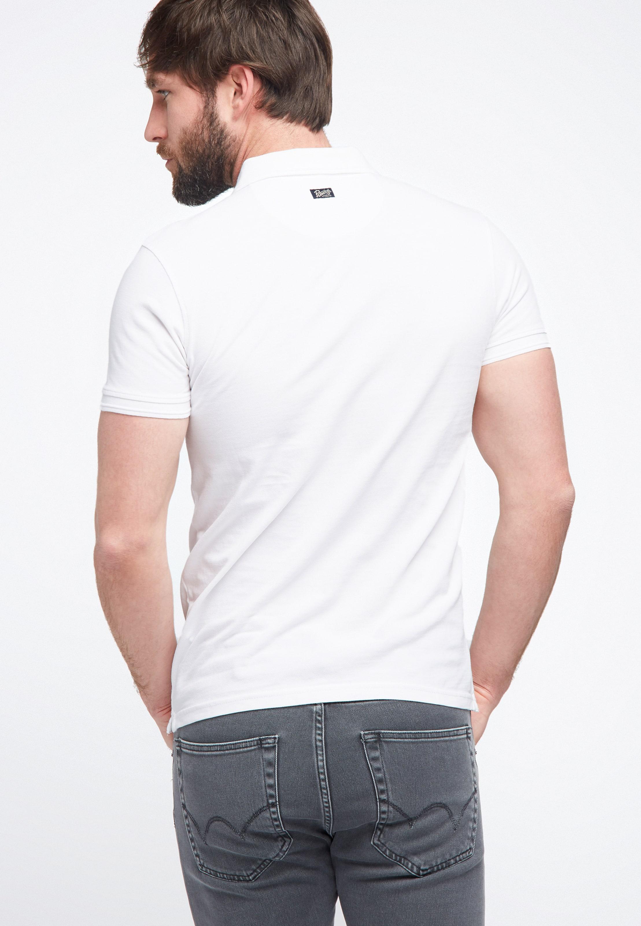 Industries Petrol Shirt Polo In Weiß fb7g6y