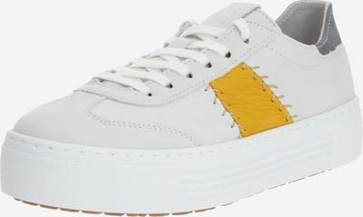 CAMEL ACTIVE Sneaker in gelb / weiß, Produktansicht