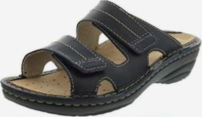 ROHDE Pantoletten in schwarz, Produktansicht