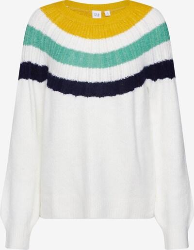 GAP Pullover 'V-GRAD YOKE PO' in naturweiß, Produktansicht