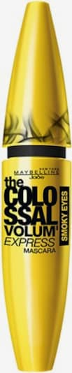 MAYBELLINE New York Mascara 'Volum - Express The Colossal Smoky Eyes' in Yellow / Black, Item view
