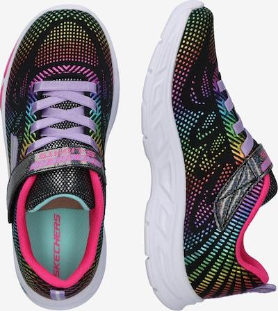 SKECHERS Sneaker 'LITEBEAMS - GLEAM N' DREAM' in mischfarben / schwarz: Seitenansicht