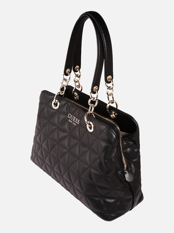 GUESS Handtasche 'Laiken' in schwarz | ABOUT YOU
