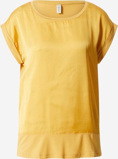 Soyaconcept T-shirt 'SC-THILDE 6 T-SHIRT' en jaune, Vue avec produit