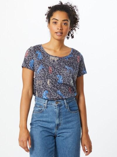 CECIL Shirt in de kleur Duifblauw / Gemengde kleuren: Vooraanzicht