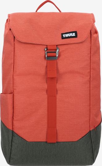 Thule Rucksack 'Lithos' in dunkelgrau / orangerot, Produktansicht