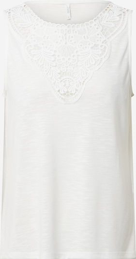 ONLY Top 'ONLISA S/L TOP JRS' in offwhite, Produktansicht