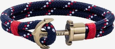Paul Hewitt Armband in nachtblau / rot / weiß, Produktansicht