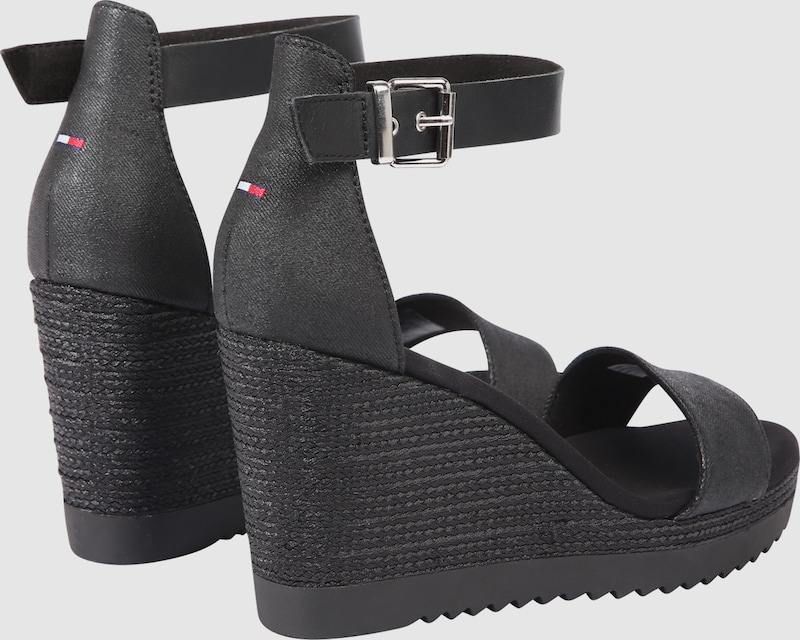 Tommy Jeans Wedge-Sandalen Verschleißfeste Schuhe billige Schuhe Verschleißfeste ea7a01