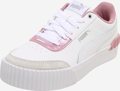 PUMA Baskets basses 'Carina Lift Pearl' en taupe / rose / blanc, Vue avec produit