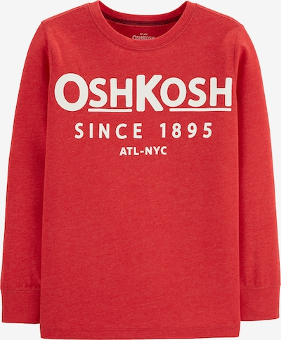 OshKosh Shirt in rot / weiß: Frontalansicht