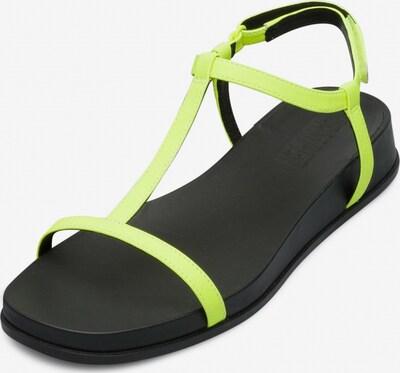 CAMPER Sandale 'Atonik' in neonblau, Produktansicht