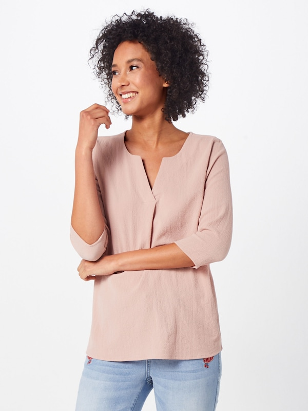 ABOUT YOU Bluse 'Emmi' in rosa, Modelansicht