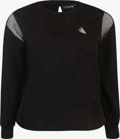 Active by Zizzi Sweatshirt 'ISABELLE' in schwarz, Produktansicht