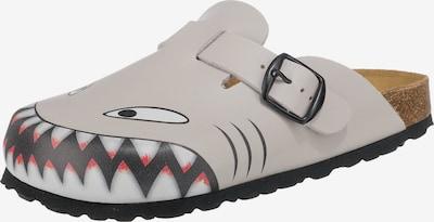 LICO Hausschuhe 'BiolineClog Hai' in grau / schwarz, Produktansicht